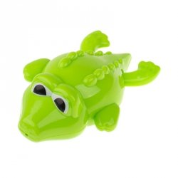 Zabawka do kąpieli nakręcana pływający krokodyl