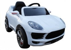 Auto na akumulator Coronet S Biały