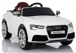 Auto Na Akumulator Audi RS5 Białe