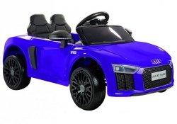 Audi R8 Spyder Roadster Cabrio Niebieski Auto na Akumulator