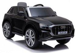 AUDI Q8 S-line LIFT 2020 auto na akumulator dla dzieci + PILOT RC JJ2066 Czarny Lakierowany