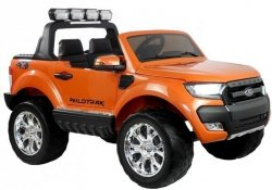 Auto na Akumulator Ford Ranger 4x4 Pomarańczowy MP4 LCD