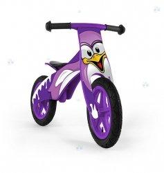 Rowerek biegowy drewniany DUPLO - PINGWIN - niebanalny wygląd