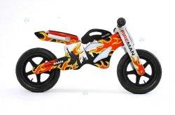 Rowerek biegowy drewniany GTX STRAŻ - nowoczesny design
