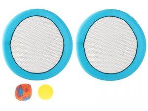 Paletki z siateczki zestaw do odbijania + 2 piłki