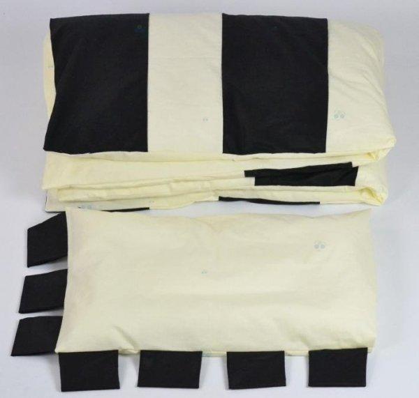 Pościel Zebra - Black Plum Polska - kołdra i poduszka - 100% bawełna