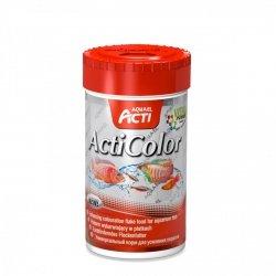 Aquael Acti Color Platki - Wybarwiający 100Ml