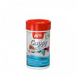 Aquael Acti Guppy Platki - Dla Gupików 100Ml