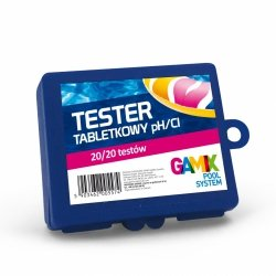 Gamix Tester Poziomu Wolnego Chloru Oraz Ph Wody Cl/Ph