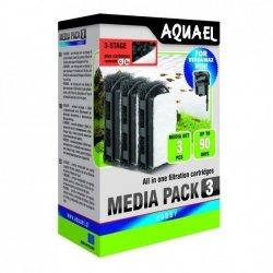 Aquael FZN Mini wkład gąbkowy z węglem i watą filtracyjną 1szt