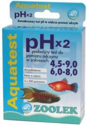 Zoolek Test Ph X2 Zakresy 4.5-9.0 Oraz 6.8-8.0