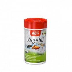 Aquael Acti Vegetal Platki - Pokarm Roślinny 250Ml