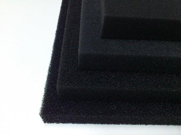Wkład Filtracyjny Gąbka 50X50X3 10PPI Czarna