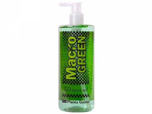 Aqua Art Macro Green 500ml Makroelementowy Nawóz Dla Roślin Wolnorosnących