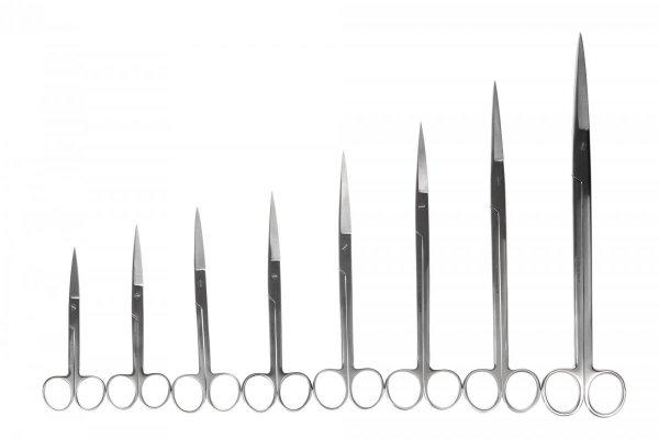 Nożyczki Akwarystyczne Proste 26 Cm Precyzyjne Jakość