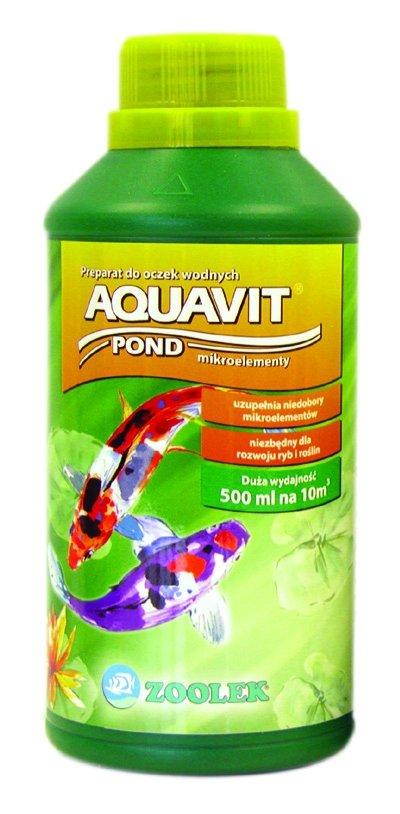 Zoolek Aquavit Pond Oczko Wodne 1000Ml Biopierwiastki