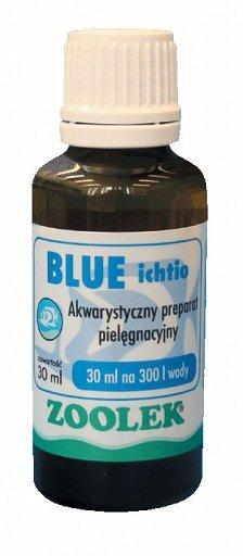 Zoolek Blue Ichtio Błękit Na Glony 30Ml