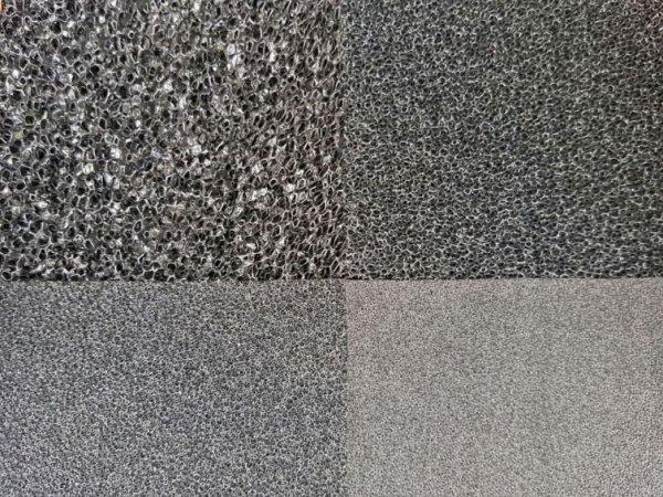 Wkład Filtracyjny Gąbka 20X20X1 45Ppi CZARNA