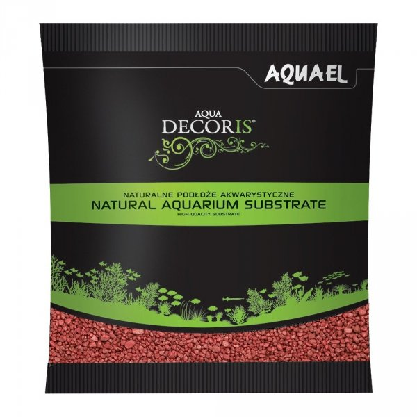 Aquael Żwirek Aqua Decoris Czerwony 1 KG
