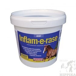 Inflam-E-Rase Equimins - Premiks o właściwościach przeciwzapalnych i przeciwbólowych, wspomagający układ kostno-stawowy koni.