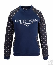 Bluza EQ QUEEN Frances granat