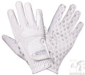FAIR PLAY rękawiczki Contour Białe