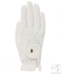 Roeckl Grip rękawiczki białe