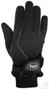 Rękawiczki zimowe York Tesi czarne