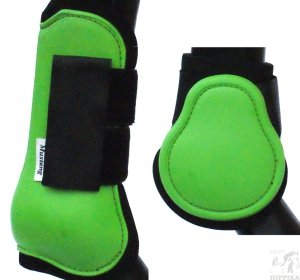 Ochraniacze twarde anatomiczne zielone