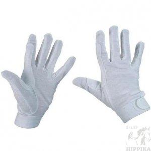 Rękawiczki FP BASIC białe bawełniane r. XS
