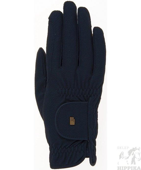 Rękawiczki ROECKL Grip, czarne wielosezonowe