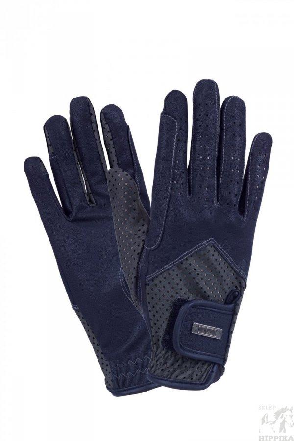 Rękawiczki FP MIRANDA granat-szare