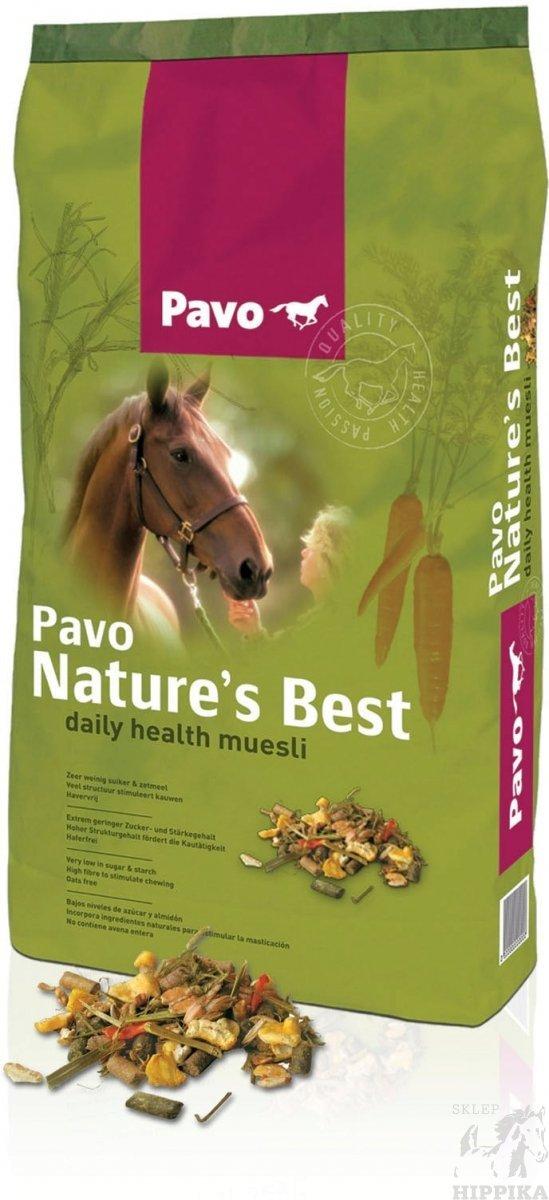 PAVO Nature's Best. Musli bez owsa dla koni