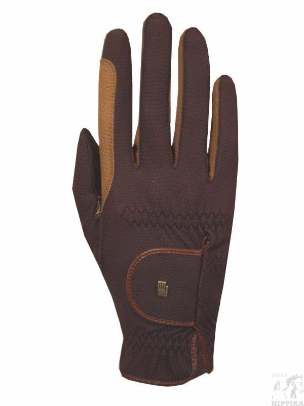 Rękawiczki ROECKL Malta, brązowe