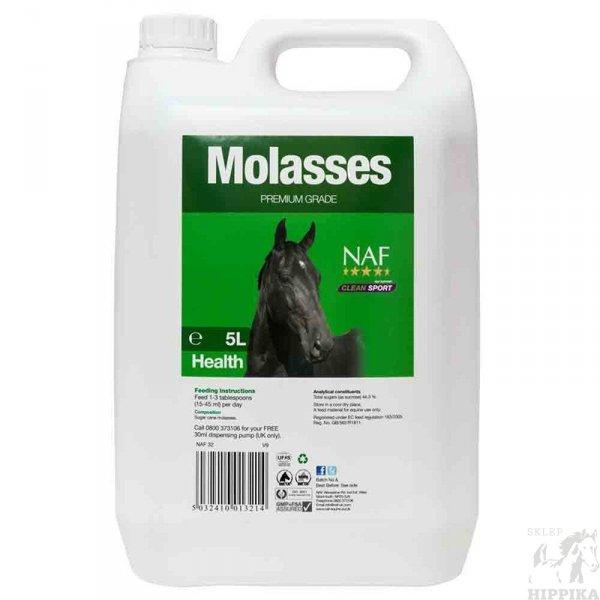 NAF Molasses - syrop pobudzający apetyt dla koni 5 l