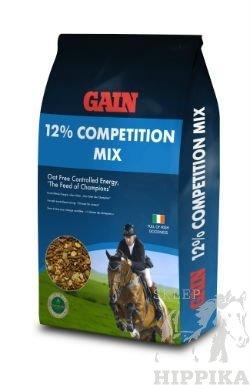GAIN 12% Competition Mix - Pełnoporcjowa pasza dla koni i kuców w lekkiej lub średniej pracy