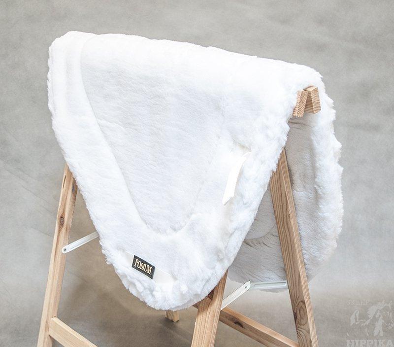 PODIUM czaprak Pile biały