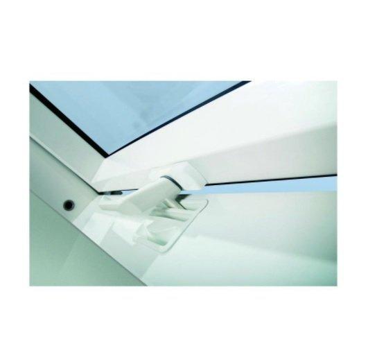 KOMPLET: Okno dachowe OPTILIGHT 78x118 TLP łazienkowe + KOŁNIERZ PVC U4 - 3 SZYBOWE!!!