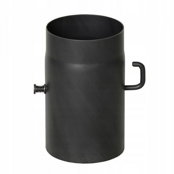 SZYBER SPALINOWY czarny fi 150/250mm 25cm BERTRAMS