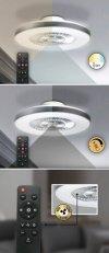LAMPA SUFITOWA PLAFON Z WENTYLATOREM RABALUX 6858 DALFON