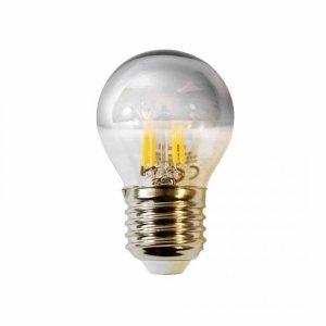 Żarówka Filamentowa LED 4W G45 E27 SILVER