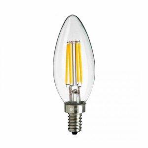 Żarówka Filamentowa LED 6W Świeczka E14 2700K