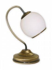 LAMPKA STOŁOWA NOCNA PATYNA KLASYCZNA LEMIR RODOS