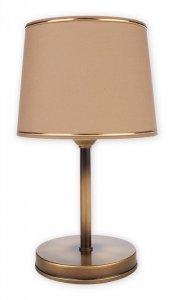 Sambra lampka stołowa 1 pł. / patyna