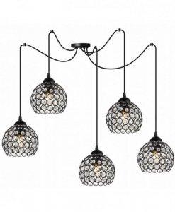 Lampa wisząca regulowana - SPIDER CRYSTAL 2221/5