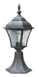 LAMPA STOJĄCA OGRODOWA ZEWNĘTRZNA SREBRNA ANTYCZNA RABALUX 8398 TOSCANA