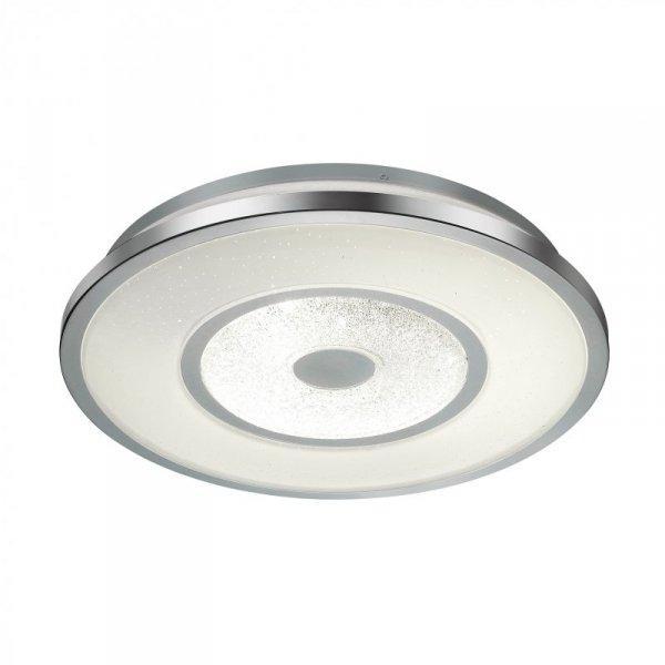 DY163-D510 HARM LAMPA SUFITOWA BIAŁA-CHROM/WHITE-CHROME