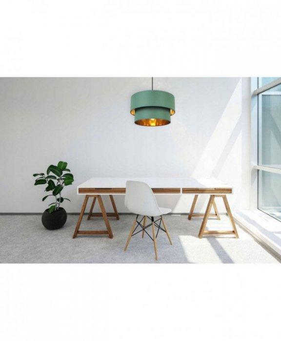 Lampa abażur materiałowa - SPIDER PREMIUM DUO 1532/1/45