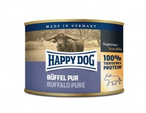 Happy Dog Buffel Puszka 100% Bawół 200g