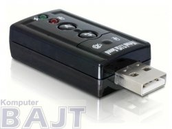 Karta muzyczna USB Delock 7.1